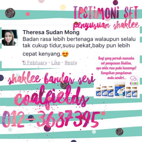 review set penyusuan shaklee theresa